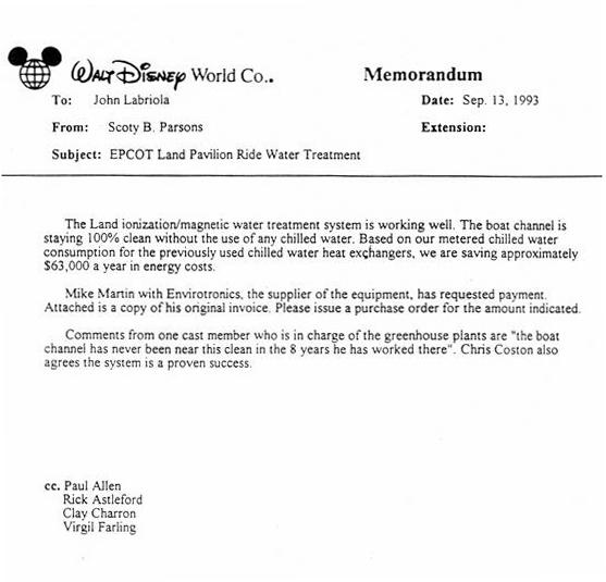 Disney Magnetizer Testimonial