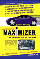 Magnetizer Engine Performance Maximizer